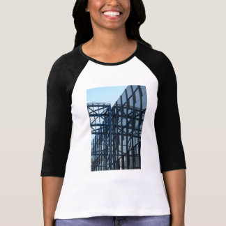 Classic Baseball Jersey with  Architecture T-Shirt