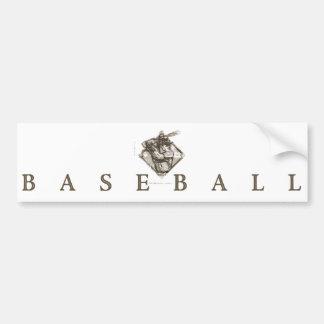 Classic Baseball T-shirts and Gift Ideas Bumper Sticker