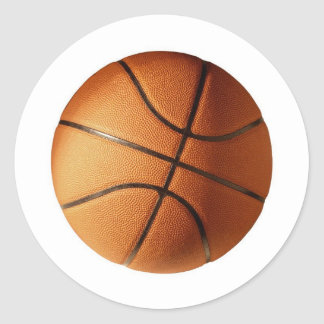 CLASSIC BASKETBALL CLASSIC ROUND STICKER