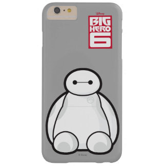 Classic Baymax Sitting Graphic Barely There iPhone 6 Plus Case