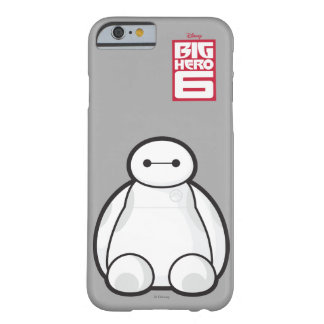 Classic Baymax Sitting Graphic Barely There iPhone 6 Case