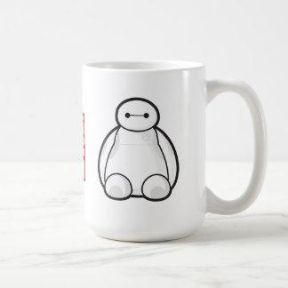 Classic Baymax Sitting Graphic Classic White Coffee Mug