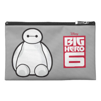 Classic Baymax Sitting Graphic Travel Accessory Bag