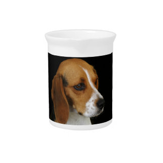 Classic Beagle Drink Pitcher