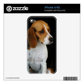 Classic Beagle iPhone 4 Decals
