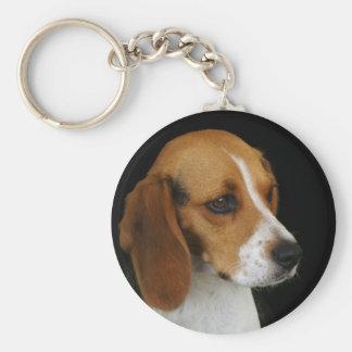 Classic Beagle Keychain