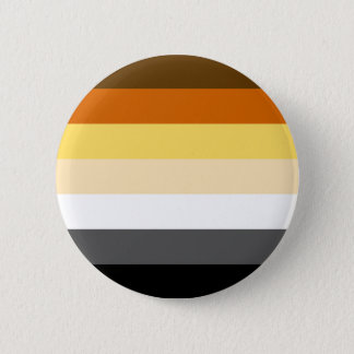 Classic Bear Pride Flag Button