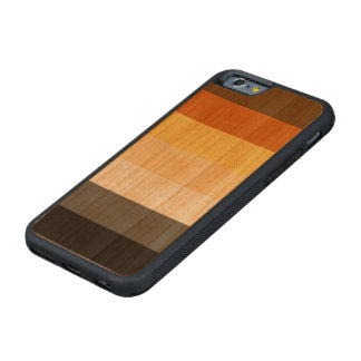 Classic Bear Pride Flag on Carved® Cherry iPhone 6 Bumper