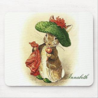 Classic Beatrix Potter Benjamin Bunny Mousepad
