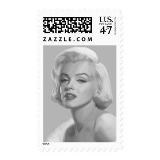 Classic Beauty Postage Stamp