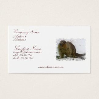 Classic Beaver Business Card