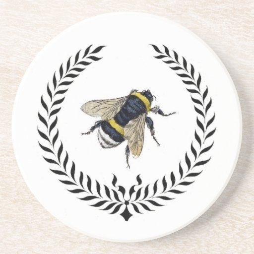 Classic Bee Coasters