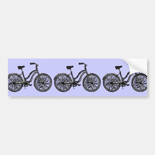 Classic Bicycle Products Bumper Sticker