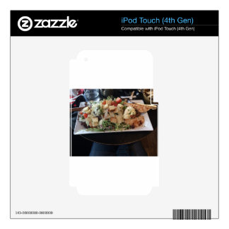 Classic Big Caesar Salad in Paris, France iPod Touch 4G Decals