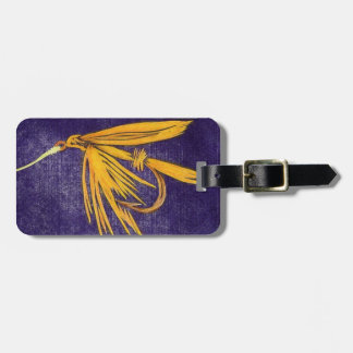 """Classic """"Big Yellow May"""" Wet Fly Luggage Tag"""