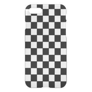 Classic Black and White Checkered Pattern iPhone 8/7 Case