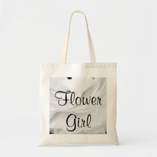 Classic Black and White Wedding Tote Bag