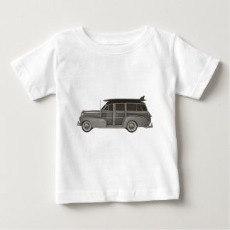 Classic Black and White Woody Baby T-Shirt
