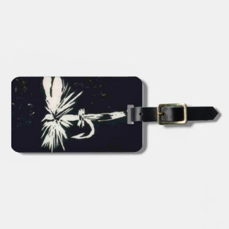 """Classic """"Black Coachman"""" Dry Fly Luggage Tag"""