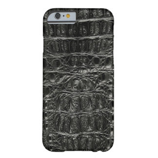 Classic Black Gator #102 Barely There iPhone 6 Case