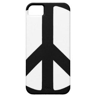 Classic Black Peace Sign iPhone SE/5/5s Case