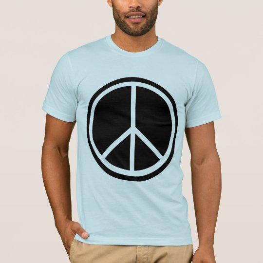 Classic Black Peace Sign T-Shirt