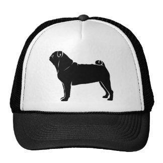 Classic Black Pug Design Trucker Hat