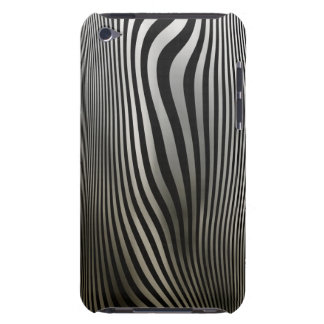 Classic black shaded abstract design. iPod touch cover