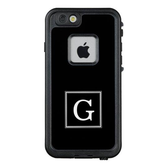 best website 1687d df1f7 Classic Black Square Monogram LifeProof iPhone Case