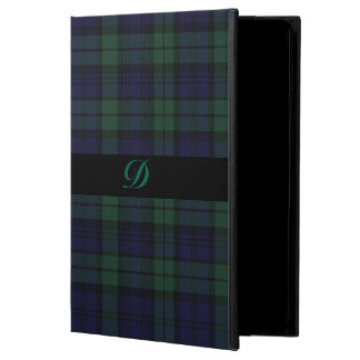 Classic Black Watch Tartan Plaid iPad Air Case