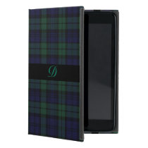 Classic Black Watch Tartan Plaid iPad Mini Case