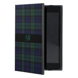 Classic Black Watch Tartan Plaid iPad Mini Case