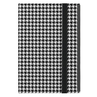 Classic Black White Houndstooth Case For iPad Mini