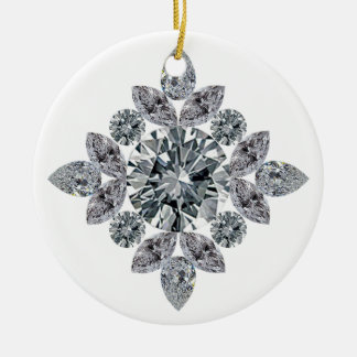classic-bling ceramic ornament