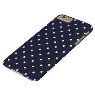Classic Blue 50s Polka Dot iPhone 6 Plus Case