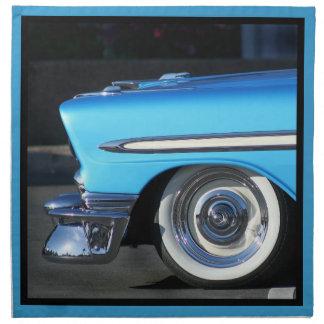 Classic Blue car Cloth Napkin