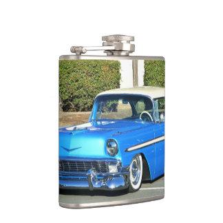 Classic blue car  Flask