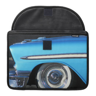 Classic Blue car Sleeves For MacBooks