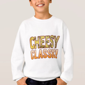 Classic Blue Cheesy Sweatshirt
