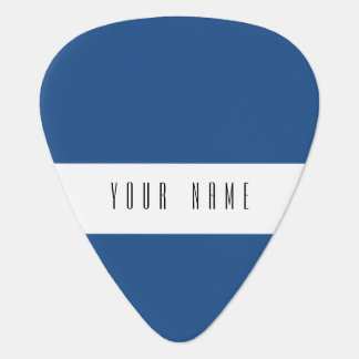 Classic Blue High End Solid Color Guitar Pick