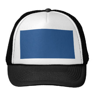 Classic Blue High End Solid Color Hat