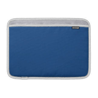 Classic Blue High End Solid Color MacBook Air Sleeve