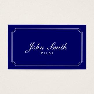 Classic Blue Pilot/Aviator Business Card