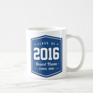 Classic Blue Retro Class Coffee Mug