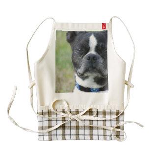 Classic Boston Terrier Dog Zazzle HEART Apron