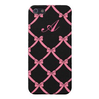 CLASSIC BOWS MONOGRAM IPHONE iPhone SE/5/5s CASE
