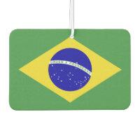 Classic Brazilian Flag Air Freshener