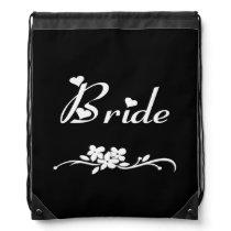 Classic Bride Drawstring Backpack
