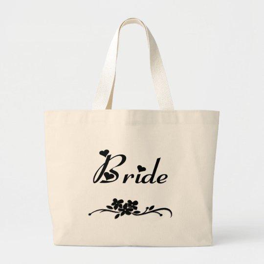 Classic Bride Large Tote Bag