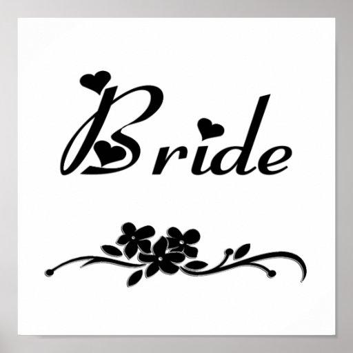 Classic Bride Poster